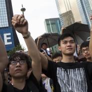 Auch am chinesischen Nationalfeiertag sind die Menschen in Hongkong wieder auf die Straßen gegangen.
