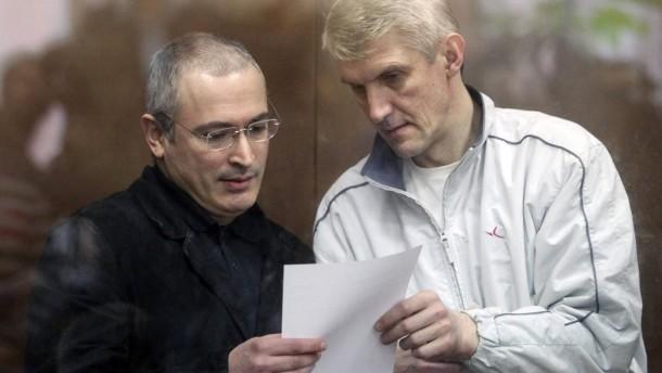 Gericht verkürzt Chodorkowskijs Haftstrafe