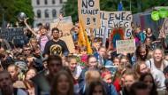 """""""Fridays for Future""""-Demonstration vom vergangenen Freitag in Berlin"""