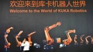 China will die Roboterindustrie dominieren. Dabei hilft ihnen auch der Zukauf des Unternehmens Kuka.