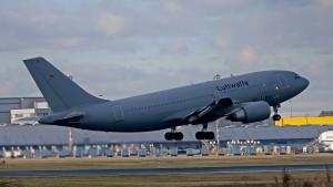 Luftwaffen-Airbus in Wuhan gelandet
