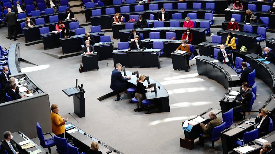 Angst um ihre Sitze im Bundestag müssen bei der Union die wenigsten Abgeordneten haben. (Symbolbild)