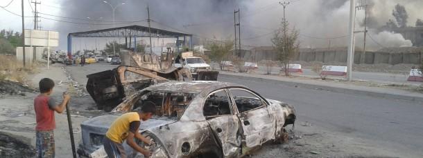 Verwüstet: Dieses Archivfoto entstand in der irakischen Stadt Mossul nach Kämpfen zwischen dem IS und Regierungstruppen