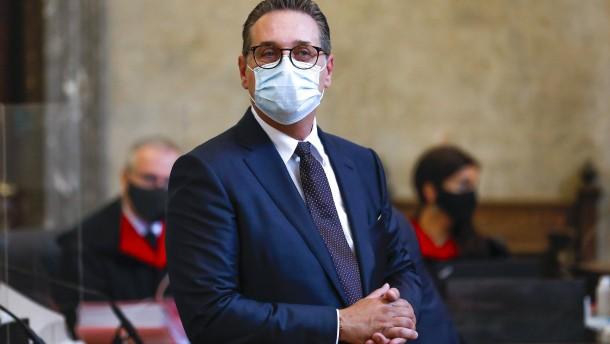 Prozessauftakt gegen Österreichs Ex-Vizekanzler