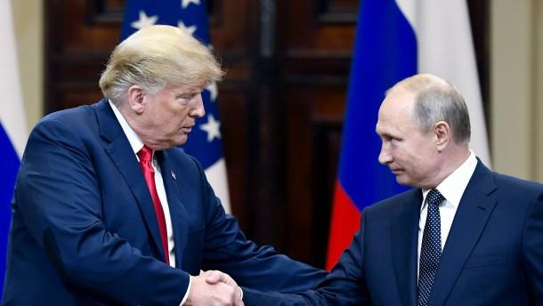 Putin will direkt mit Trump über Atomwaffenvertrag reden