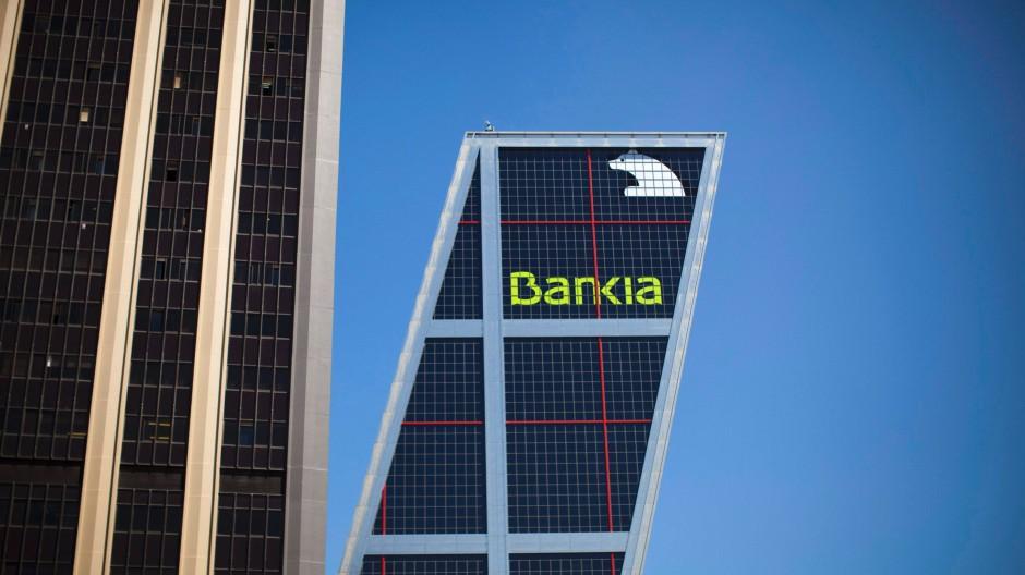Spaniens viertgrößtes Geldinstitut wartet auf Hilfe aus dem Rettungsfonds