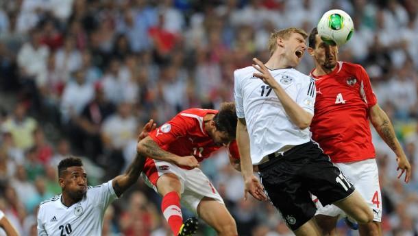 Fussball/ GES/Deutschland-Oesterreich, 06.09.2013