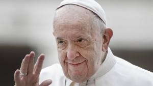 Papst erleidet abermals Schmerz-Attacke
