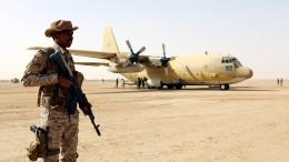 Waffenimporte im Nahen Osten verdoppeln sich
