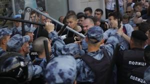 Russland muss scharfe Kritik einstecken