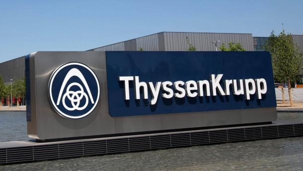 Thyssen Krupp tappt bei Kosten für Schienenkartell im Dunkeln