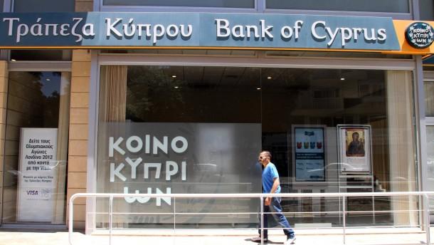 Zypern herabgestuft