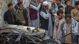 Pentagon räumt zivile Opfer bei Drohnenangriff in Kabul ein