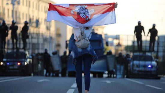Massenproteste in Belarus