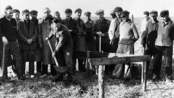 Bodenreform, Aufteilung des Landes