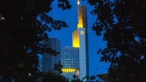 Die Commerzbank-Zentrale in Frankfurt am Main