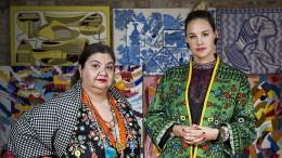 Zwei Frauen, ein Look