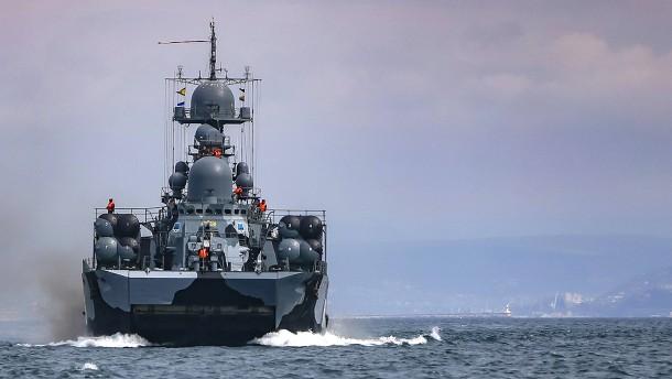 Russland will Seegebiete sperren