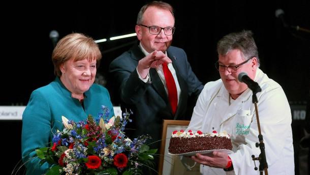 Angela Merkel wird Ehrenbürgerin von Templin