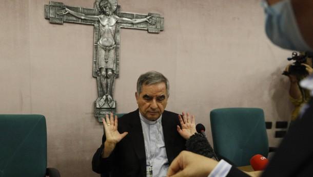 Vatikan ermittelt gegen Kardinal wegen Zeugenbestechung