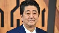 Will die Konsumsteuer anheben: Shinzo Abe