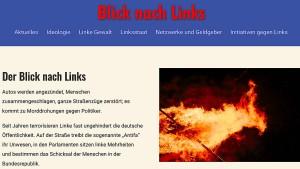 AfD schaltet Meldeportal gegen Linksextremismus frei