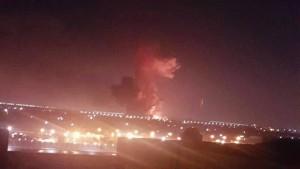 Explosion in Chemiefabrik erschüttert Flughafen Kairo