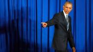 Obama nennt Tötung von Mansur wichtigen Meilenstein