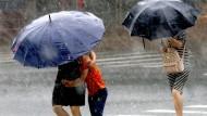 Nicht nur in Schanghai ist Starkregen ein Problem. Auch deutsche Städte müssen sich für Extremwettereignisse rüsten.