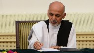 Ghani wird Präsident Afghanistans