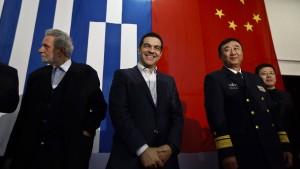 China drängt auf den Balkan