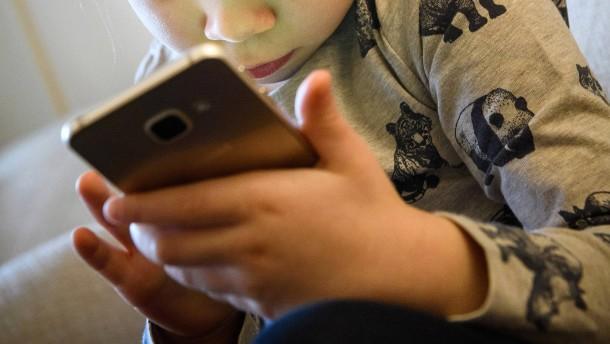 Smartphones sind für Kinder selbstverständlich