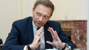 """Lindner offen für """"Deutschland-Koalition"""""""