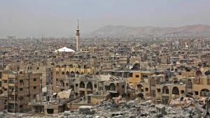 Waffenkontrolleure verschieben nach Schüssen Inspektion in Douma