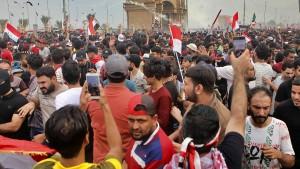 Mehr als 40 Tote bei regierungskritischen Protesten im Irak
