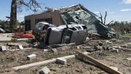 Tornados hinterlassen in Texas Tote und Verwüstung