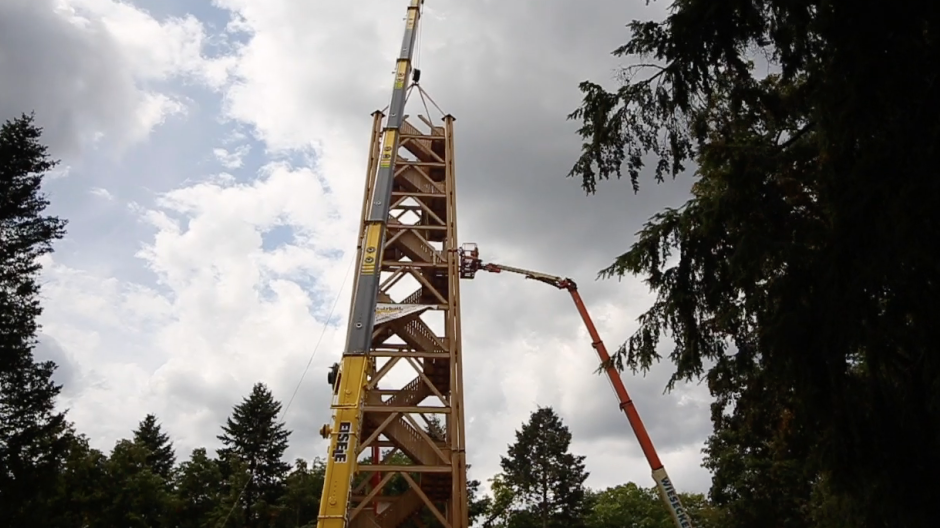 Der neue alte Goetheturm