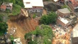 14 Tote nach Erdrutsch in Armenviertel in Rio