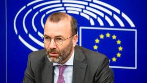 """Manfred Weber nennt türkischen EU-Beitritt """"Illusion"""""""