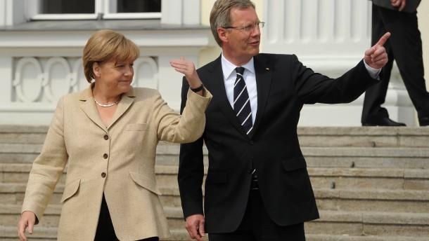 Merkel: Wulffs Entscheidung respektieren