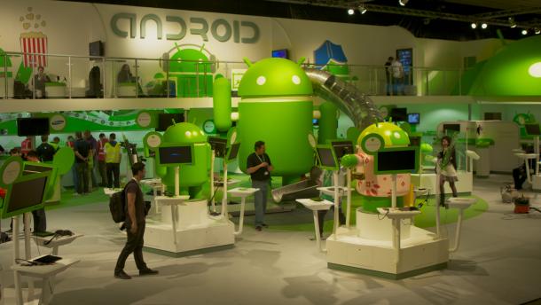 Mobile World Congress: Googles Androiden machen alles ...