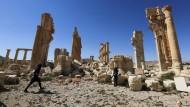 Was von Palmyra übrig geblieben ist