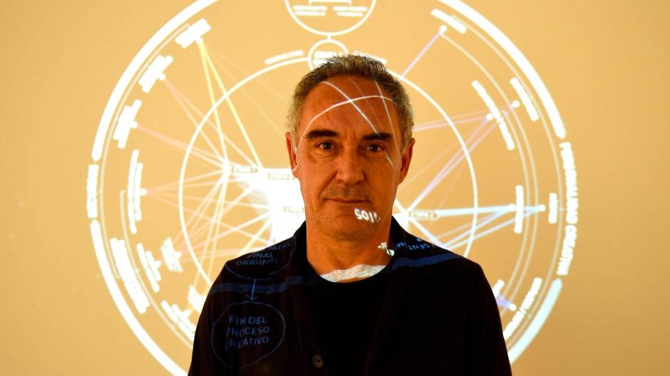 Homo sapiens coquens: Ferran Adrià will das vielfältige kulinarische Wissen der Welt zusammentragen und ordnen.