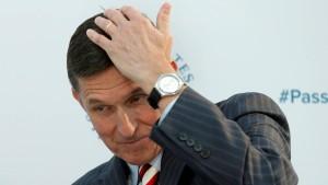 Trumps Nationaler Sicherheitsberater tritt zurück