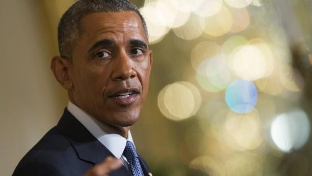 Obama spielt offensiv