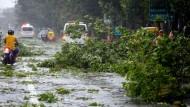 Taifun trifft philippinische Hauptstadt Manila