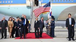 Trump in Südkorea eingetroffen