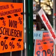 Ein Geschäft in der Innenstadt von Eisenach muss schließen.
