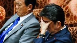 Eine Schrumpfung in Japan beendet zwei Jahre Wachstum