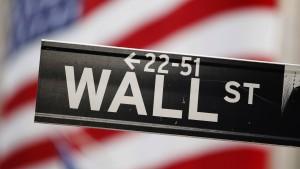 Wall Street fürchtet schwache Bilanzsaison